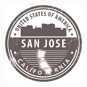 San Jose, California badge