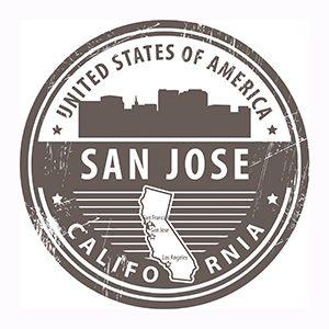 San Jose, California badge